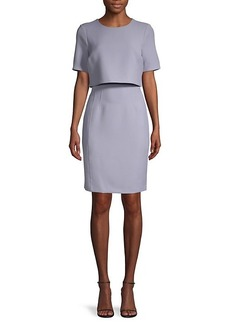 DKNY Popover Sheath Dress