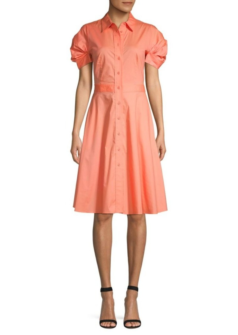 DKNY Princess Sleeve Shirtdress