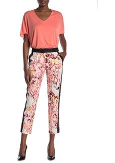 DKNY Printed Ankle Slim Pants