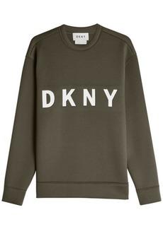 DKNY Printed Cotton Sweatshirt