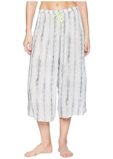 DKNY Printed Crop Pants