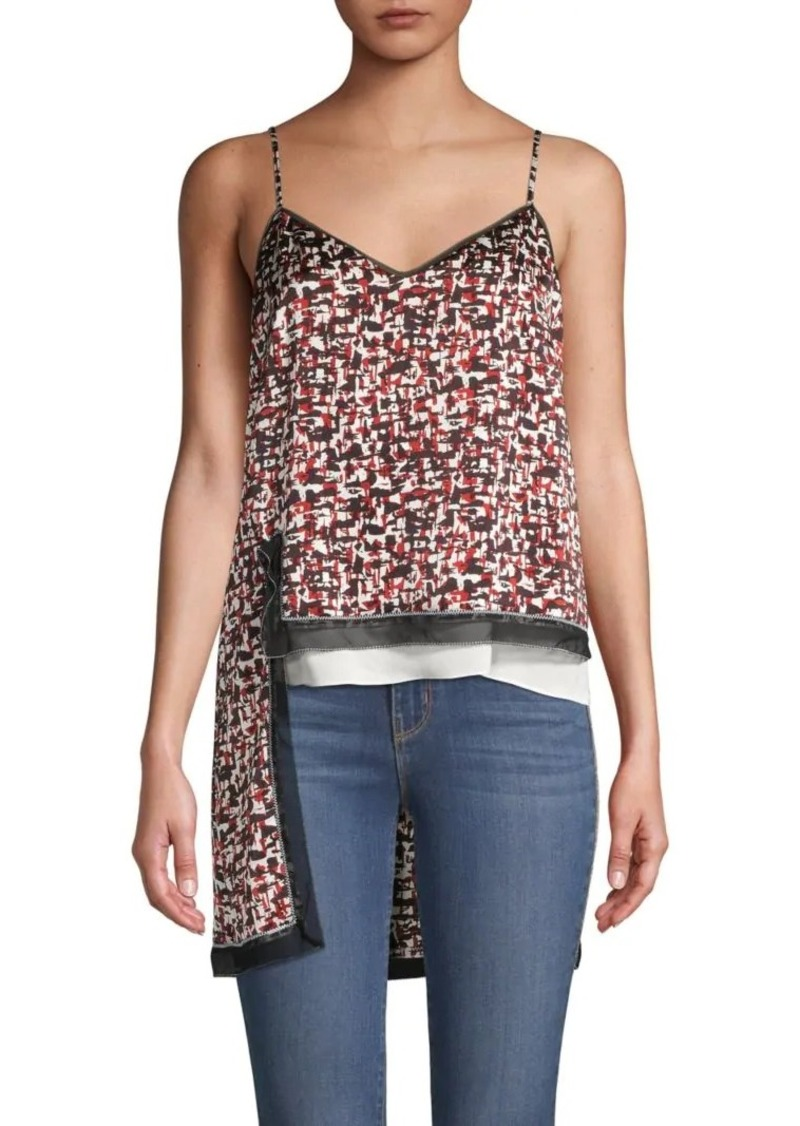 DKNY Printed High-Low Top