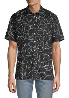 DKNY Printed Short-Sleeve Shirt
