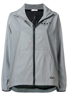 DKNY reflective convertible jacket