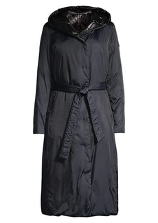 DKNY Reversible Quilted Down Coat