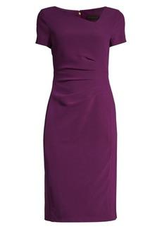 DKNY Ruched Side Sheath Dress