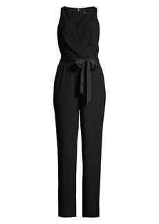 DKNY Satin Crepe Jumpsuit