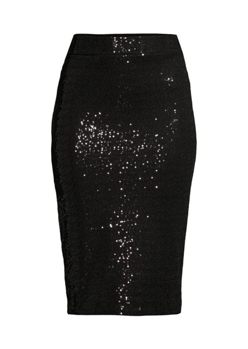 DKNY Sequin Pencil Skirt