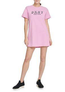 DKNY Shadow Logo Oversized T-Shirt Dress