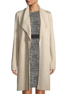 DKNY Shawl-Collar Long Cardigan