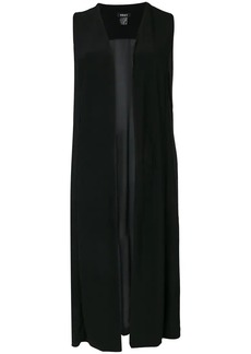 DKNY sheer long vest coat