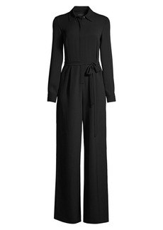 DKNY Shirt Wrap Jumpsuit