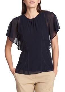 DKNY Short-Sleeve Top
