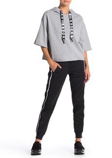 DKNY Side Stripe Knit Joggers