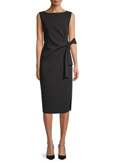 DKNY Side-Tie Sleeveless Dress