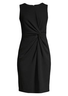 DKNY Side Twist Sheath Dress