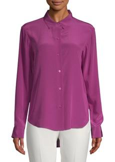 DKNY Silk Button-Down Shirt