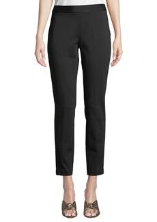 DKNY Skinny Side-Zip Ankle Pants