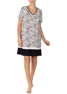 """DKNY Sleepwear 35"""" Short Sleeve Sleepshirt"""