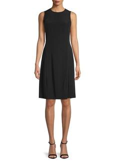 DKNY Sleeveless A-Line Dress