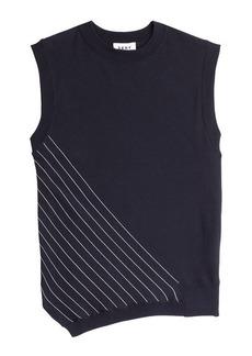 DKNY Sleeveless Cotton Top