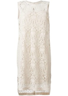 DKNY sleeveless lace dress