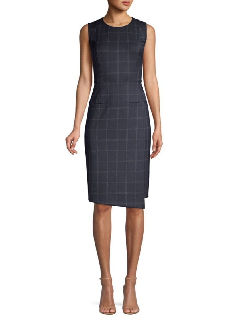 DKNY Sleeveless Menswear Sheath