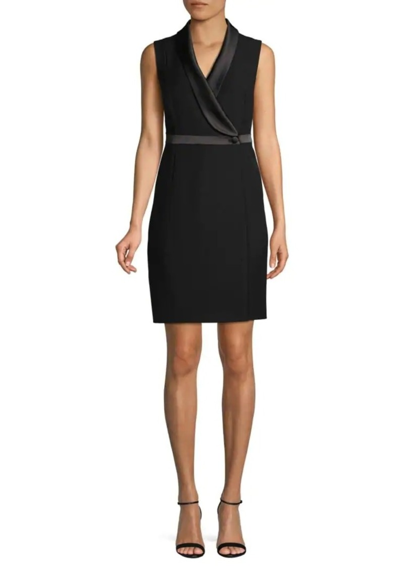 DKNY Sleeveless Mini Dress