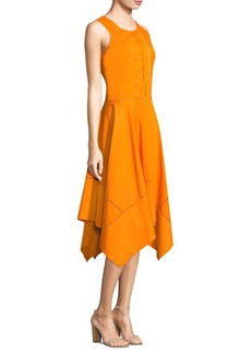 DKNY Sleeveless Trapeze Dress