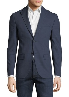 DKNY Slim-Fit Grid Sport Coat