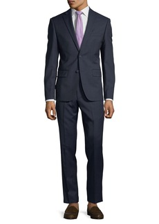 DKNY Slim-Fit Neat Wool Two-Piece Suit