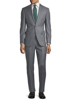 DKNY Slim-Fit Solid Wool Two-Piece Suit
