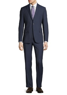 DKNY Slim-Fit Tic Weave Suit