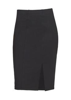 DKNY Slit Compression Ponte Skirt
