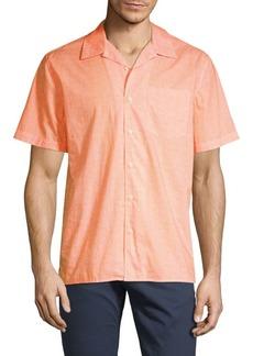 DKNY Star-Print Short-Sleeve Shirt