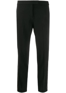 DKNY stone-piping straight trousers