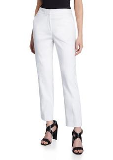 DKNY Straight-Leg Pants with Back Pockets