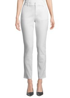 DKNY Straight-Leg Stretch Twill Pants