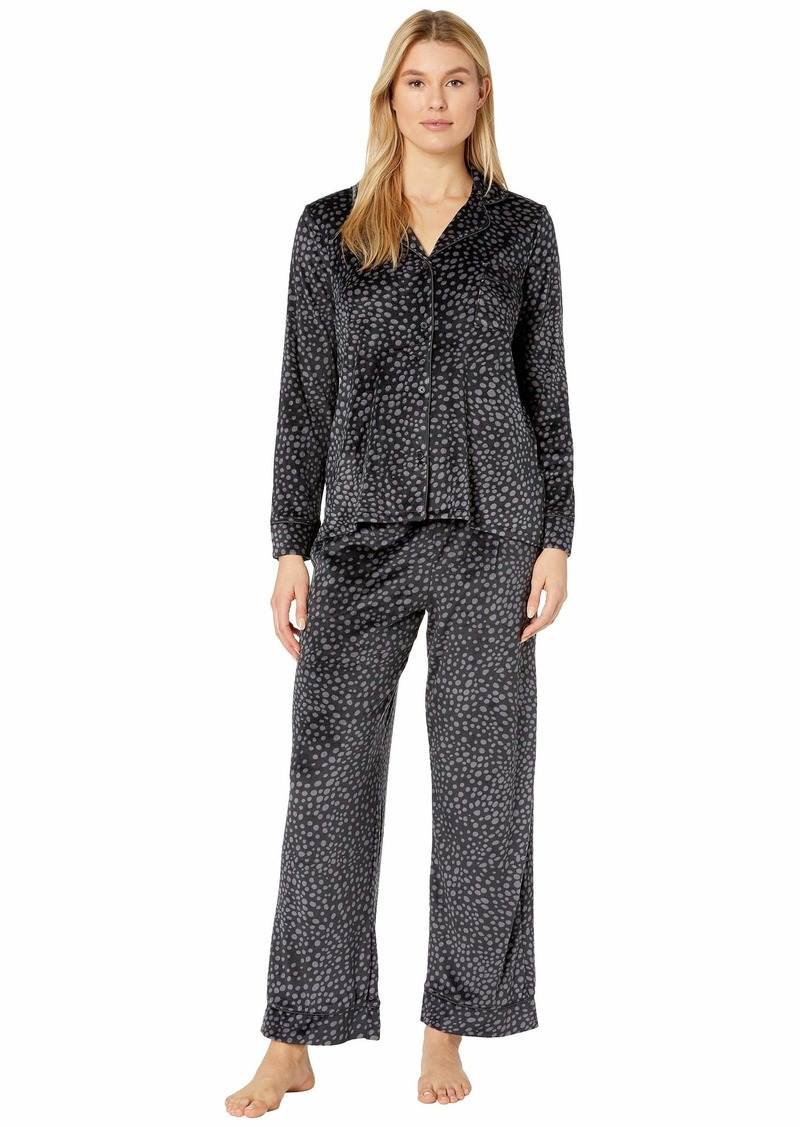 DKNY Stretch Velour Pajama Set