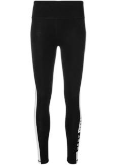 DKNY SPORT stripe detail leggings