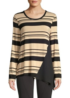DKNY Stripe Jersey Top
