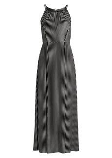 DKNY Stripe Maxi Dress