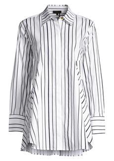 DKNY Stripe Tunic Shirt