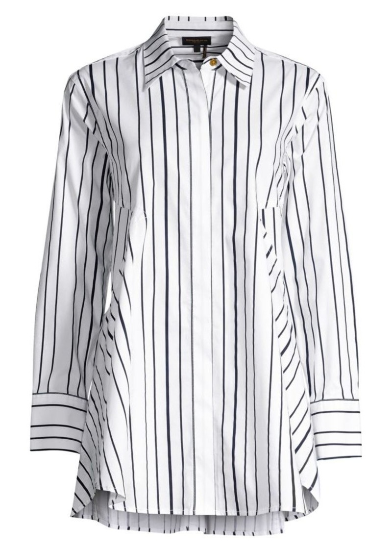 DKNY Stripe Tunic Shirt