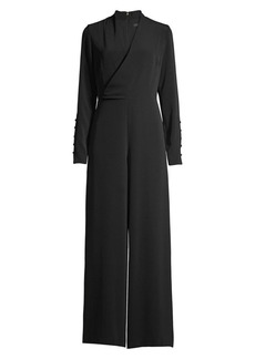 DKNY Surplice Jumpsuit
