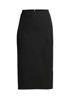 DKNY Tech Crepe Pencil Skirt