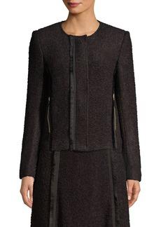 DKNY Textured Blazer Jacket