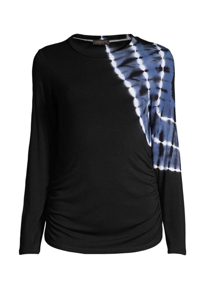DKNY Tie-Dye Long-Sleeve T-Shirt