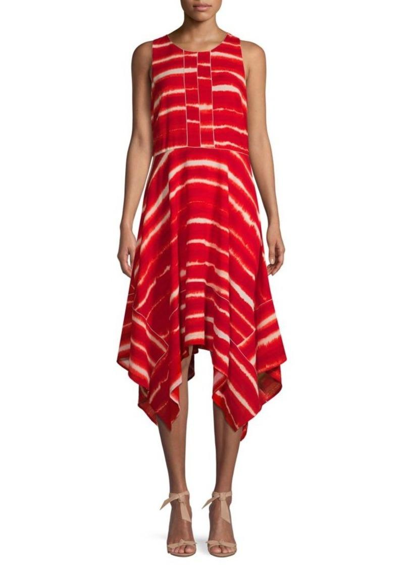 DKNY Tie-Dye Midi Dress