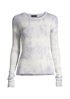 DKNY Tie-Dye Ribbed T-Shirt